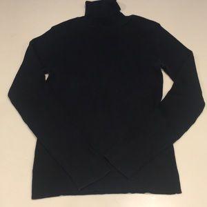 Ann Taylor Loft silk turtleneck sweater